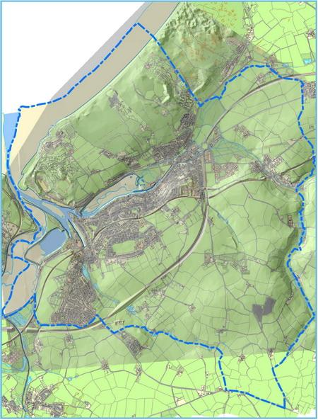Map 1 The Hayle Neighbourhood Plan Boundary